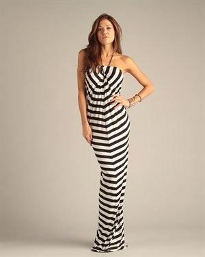 Josh Brody Maxi Chain Dress