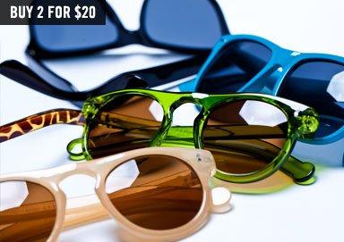 Shop Sunglasses Steal ft. AJ Morgan