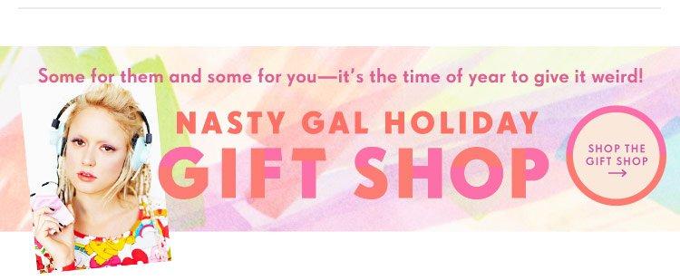Nasty Gal Holiday Gift Shop