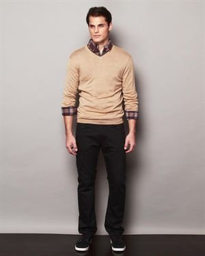 Report Collection Wool V-Neck Merino Sweater $39