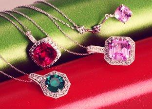 Always & Forever: Gemstone Necklaces