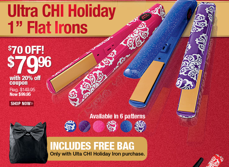 Ultra CHI Holiday Flat Irons