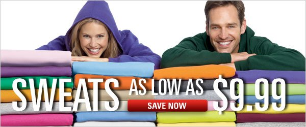 Sweats as low as $9.99