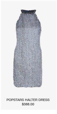 popstars halter dress