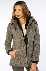 The Doo-Wop Military Jacket in Gray Heather