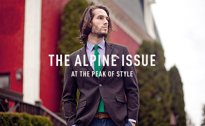THE ALPINE ISSUE - At the peak of style
