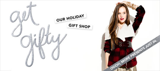 Get Gifty:Our Holiday Gift Shop
