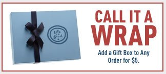 Add Gift Wrap to Any Order for $5