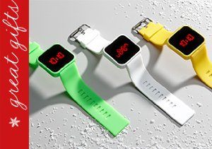 Benny Flores Tap2Time Digital Watches