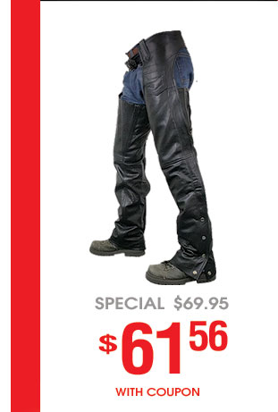 Sale: Motorcycle Chaps & Pants