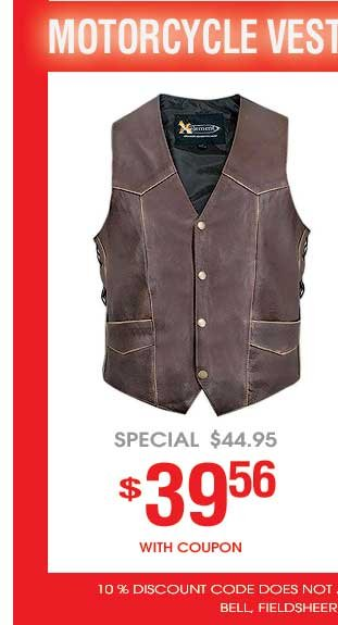 Motorcycle Vests on Sale