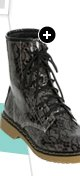 Printed Lace Combat Boot