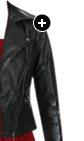 Snake Skin Moto Jacket