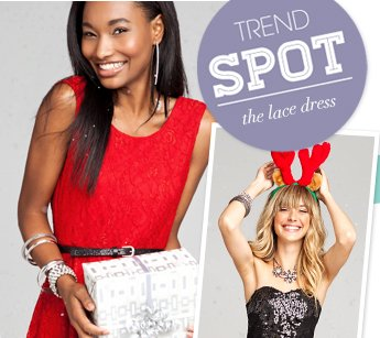 Trend Spot - The Lace Dress