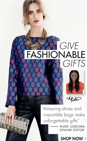 Give Fashionable Gifts
