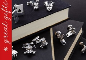 GREAT GIFTS: STERLING SILVER CUFFLINKS & JEWELRY FROM ROTENIER