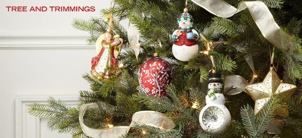 TREE AND TRIMMINGS, Event Ends December 5, 9:00 AM PT >