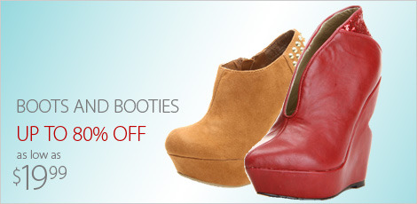 Boots & Booties from 19.99