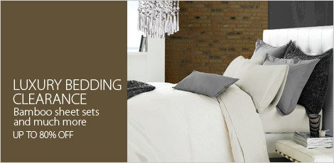 Luxury Bedding Clearance