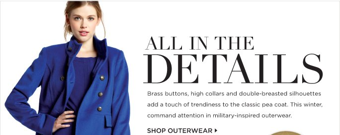 SHOP OUTERWEAR »