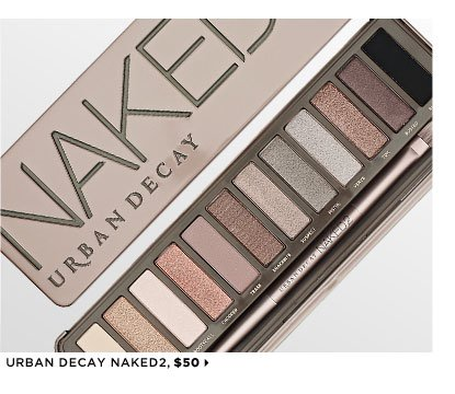 Featuring Urban Decay Naked2, $50