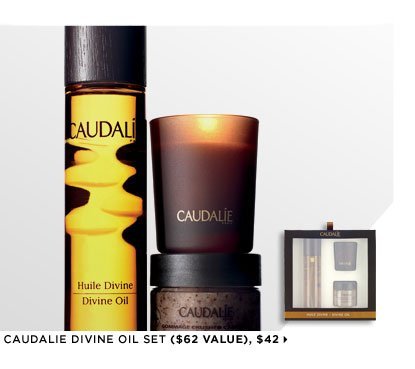 Featuring Caudalie Divine Oil Set ($62 Value), $42