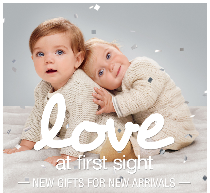 love at first sight - NEW GIFTS FOR NEW ARRIVALS