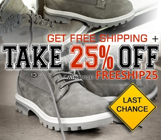 Skip the Lines! Get 25% Off + free shipping