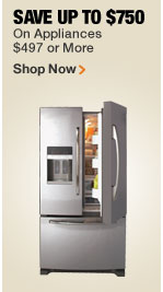 SPECIAL BUYS ON APPLIANCES