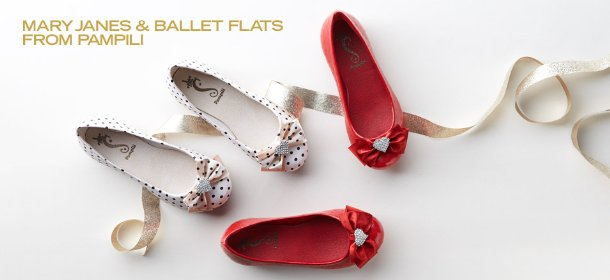 MARY JANES & BALLET FLATS FROM PAMPILI, Event Ends December 5, 9:00 AM PT >