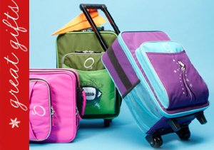 FREQUENT FLYERS: KIDS' SUITCASES