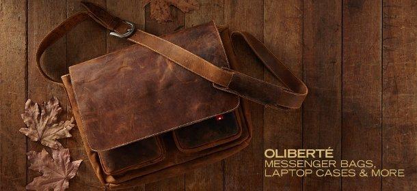 OLIBERTE: MESSENGER BAGS, LAPTOP CASES & MORE