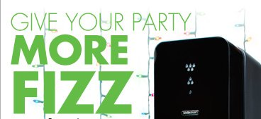 GIVE YOUR PARTY MORE FIZZ sodastream  SHOOTING STAR MIXED DRINK COS-MOJITO GINGER JULEP