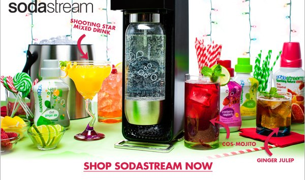 SHOP SODASTREAM NOW