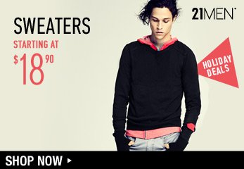 Men's Holiday Deals - Sweaters - Shop Now