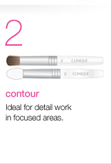 Contour. Ideal for detail work in focused areas.
