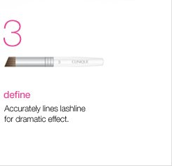 Define. Accurately lines lashline for dramatic effect.