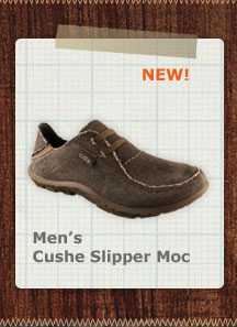 Men's Cushe Slipper Moc