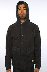 The Flindtridge Sweatshirt in Black & Vintage White