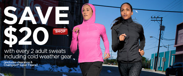 Save on Cold Weather Gear