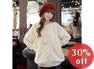 Loop-Knit Sweater