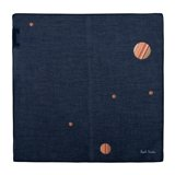 Paul Smith Handkerchiefs - Navy Signature Stripe Cosmic Dot Handkerchief