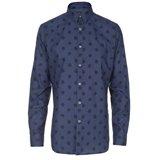 Paul Smith Shirts - Navy Spot Print Shirt