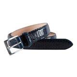 Paul Smith Belts - Navy Mowbray Suit Belt