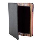 Paul Smith Accessories - Black Signature Stripe Interior iPad Case