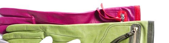 colorblock pocket glove