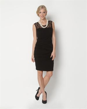 Voir Voir Layered And Lace Dress