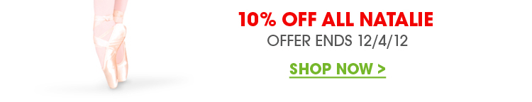 10% off Natalie