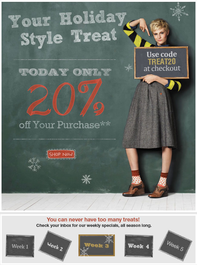 Your Holiday Style Treat