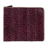 Paul Smith Accessories - Damson Snakeskin iPad Case